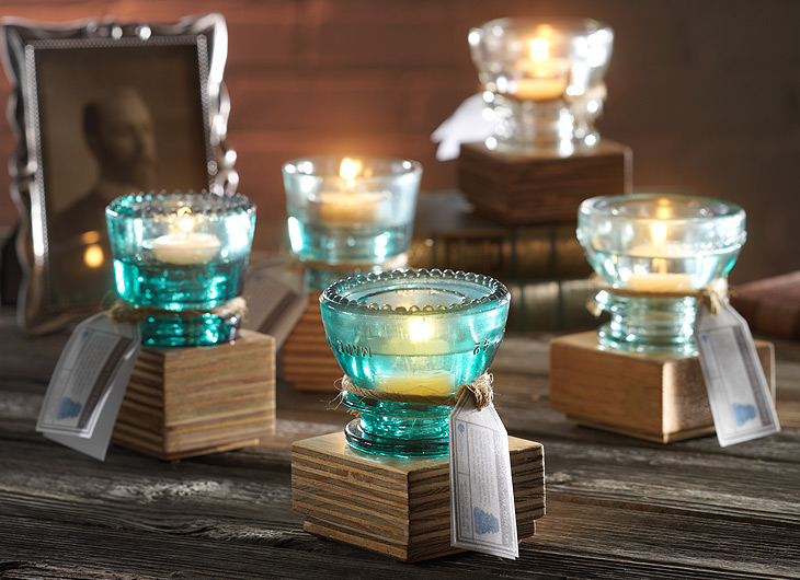 J2 creative website identity product package design for Insulator candle holder